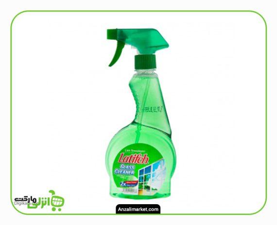 مایع شیشه شوی سبز لطیفه