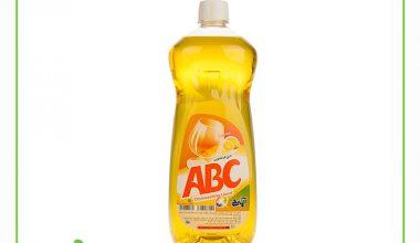مایع ظرفشویی آ.ب.ث با رایحه لیمو