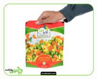 مخلوط سبزیجات منجمد نوبر سبز
