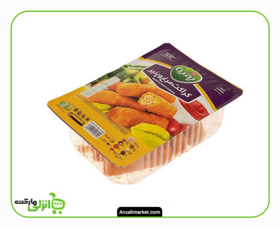 کراکت مرغ و پنیر پمینا