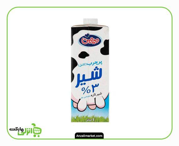 شیر پرچرب 3% میهن
