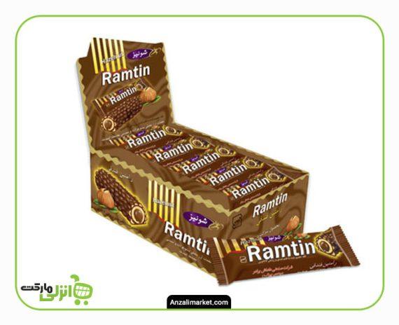شکلات فندقی رامتین جعبه ای شونیز