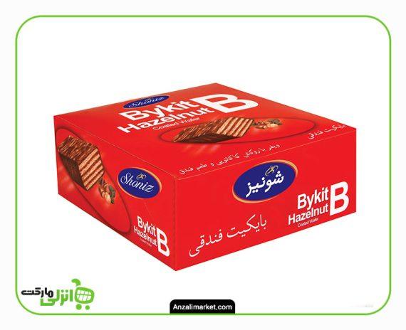 شکلات بایکیت تلخ جعبه ای شونیز