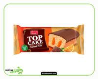 تاپ کیک پرتقال و روکش کاکائویی