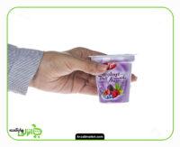 ماست میوه ای با طعم آلوورا و میوه های جنگلی کاله