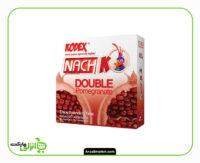 کاندوم کدکس مدل Double Pomegranate بسته 3 عددی