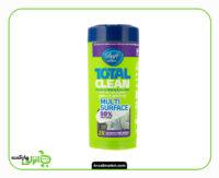 دستمال مرطوب تمیزکننده سطوح دافی