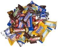 شکلات و آبنبات