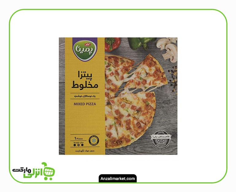 پیتزا مخلوط پمینا کاله