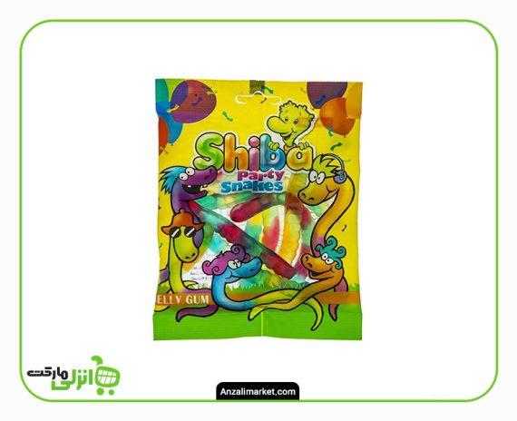 پاستیل میوه ای شیبا مدل Party Snakes