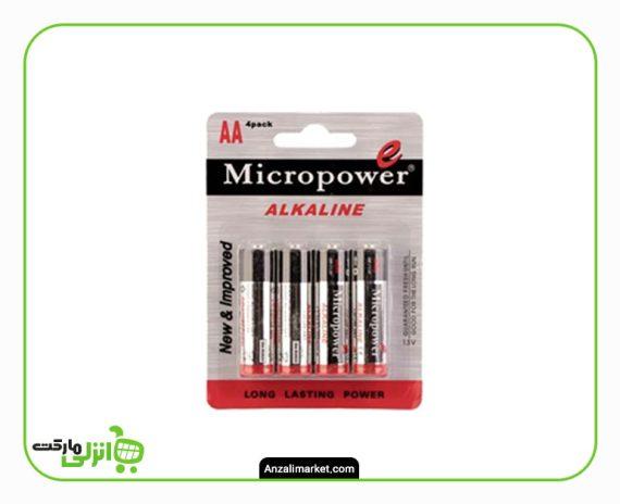 باتری قلمی میکرو پاور چهار عددی