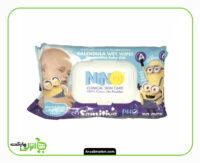 دستمال مرطوب کودک نینو