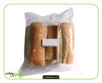 نان باگت لقمه ای - بسته بندی