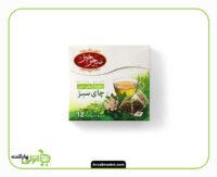 دمنوش چای سبز سحرخیز بسته 12 عددی