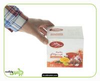 دمنوش مخلوط میوه ای سحرخیز - 24 گرم