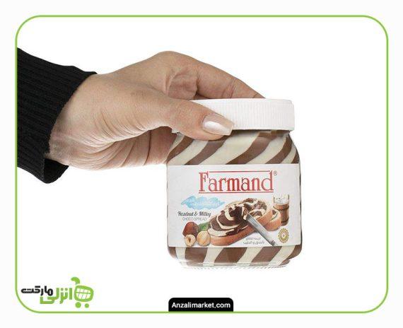 کرم کاکائو فندقی شیری فرمند - 330 گرم