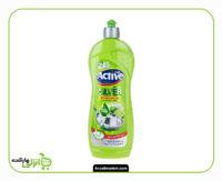 مایع ظرفشویی لیمو و گل اکتیو - 750 گرم