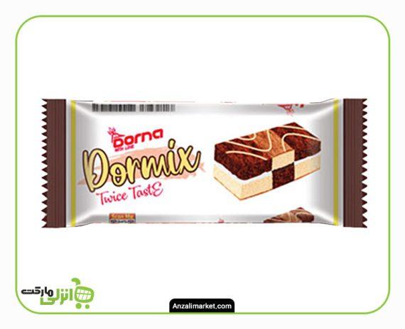 کیک دولایه درمیکس درنا - 40 گرم