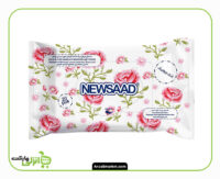 دستمال مرطوب آرایشی نیوساد - 20 عدد