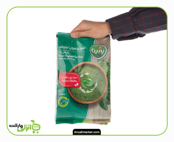 سبزی سوپ منجمد پمینا - 400 گرم