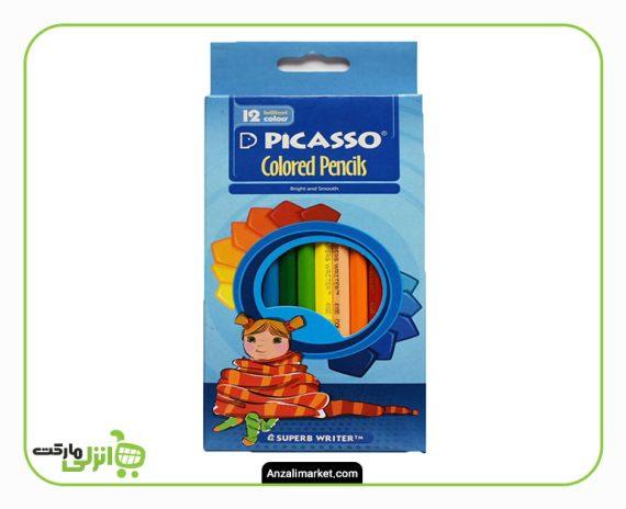 مداد رنگی پیکاسو - 12 رنگ