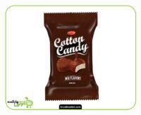 پشمک لقمه ای کاکائویی شیرین وطن - 22 گرم