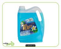 مایع دستشویی تاپ گالنی آبی - 4 لیتر
