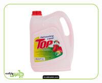 مایع ظرفشویی گالنی تاپ توت فرنگی - 4 لیتر