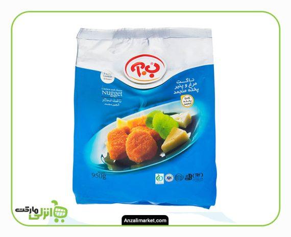 ناگت مرغ و پنیر ب آ - 950 گرم