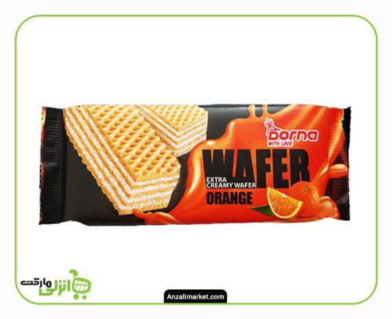 ویفر پرتقالی درنا - 60 گرم