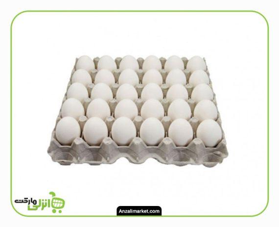 تخم مرغ بسته بندی یک شانه - 30 عدد