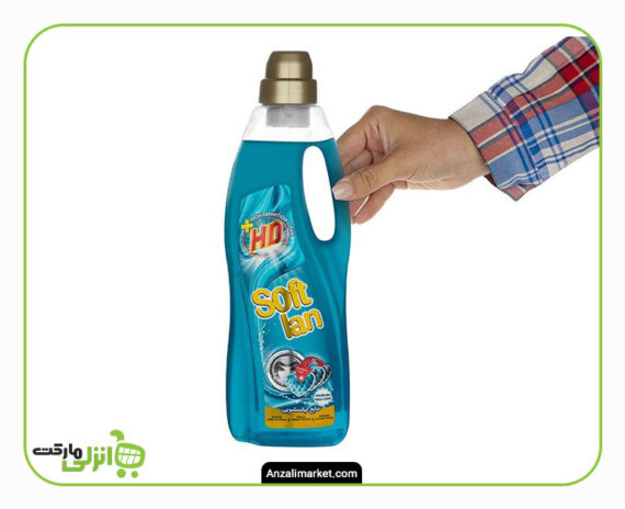 مایع لباسشویی HD سافتلن آبی - 1 لیتر