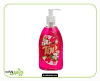 مایع دستشویی تاپ صورتی - 500 گرم