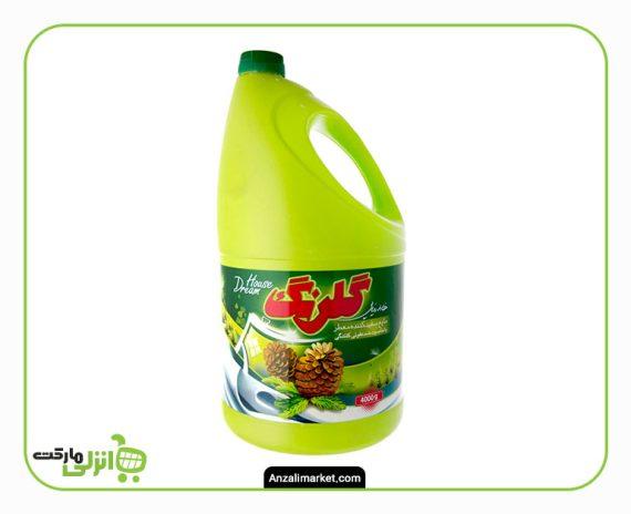مایع سفید کننده معطر گلرنگ - 4 لیتر