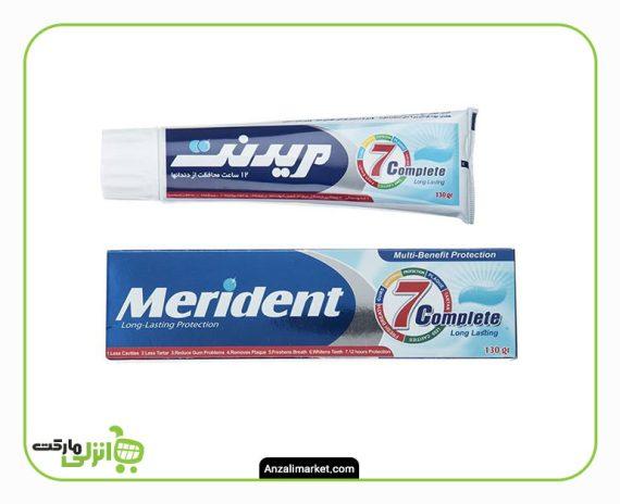 خمیر دندان کامل و سفید کننده مریدنت - 100 گرم