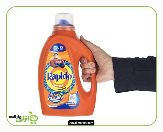 مایع لباسشویی رنگین شور راپیدو - 1.5 لیتر