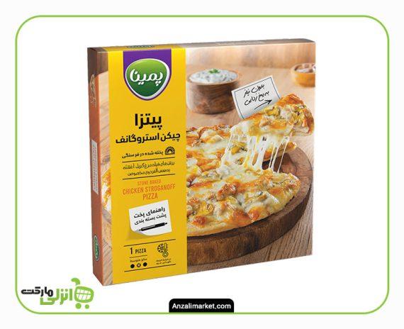 پیتزا چیکن استراگانف آلفردو - 450 گرم