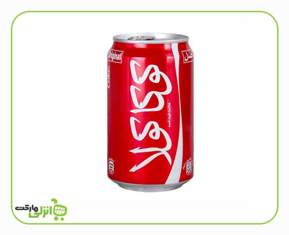 نوشابه کوکا کولا قوطی
