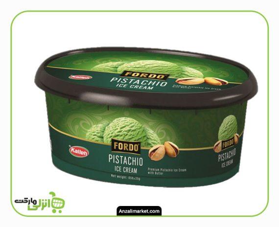 بستنی پسته ای فوردو کاله - 650 گرم