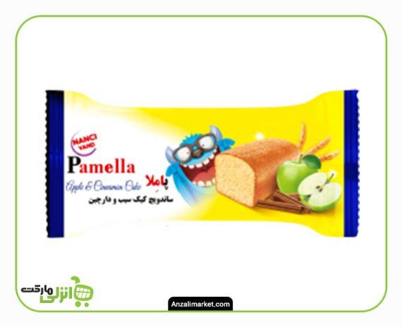 کیک سیب دارچین پاملا -100 گرم