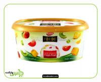 بستنی وانیلی با میوه های فصل فوردو کاله - 650 گرم