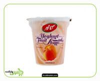 ماست میوه ای هلو کاله - 125 گرم