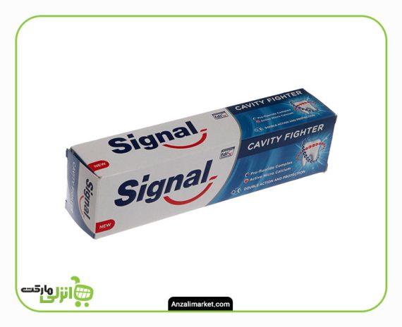 خمیر دندان ضد پوسیدگی سیگنال - 100 میل