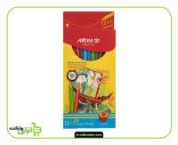 مداد رنگی آریا - 12 رنگ