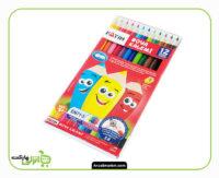 مداد رنگی فاتح - 12 رنگ