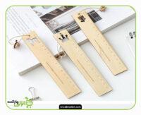 خط کش چوبی 15 سانتی متر طرح مختلف سایز/: 15 سانتی متر جنس کالا : چوب کیفیت عالی