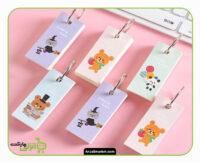 دفترچه کارتی طرح حیوانات