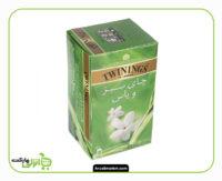چای سبز با یاس توینینگز تی بگ - 20 عدد